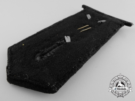Kriegsmarine Aircraft Warning Stabsoberfeldwebel Shoulder Boards Reverse