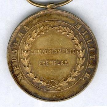 Gold Medal (for 50 Years, 1863-1911) Reverse