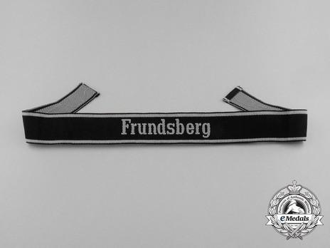 Waffen-SS Frundsberg Cuff Title Obverse