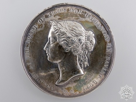 Silver Medal (for gallantry,1854-1901) Obverse