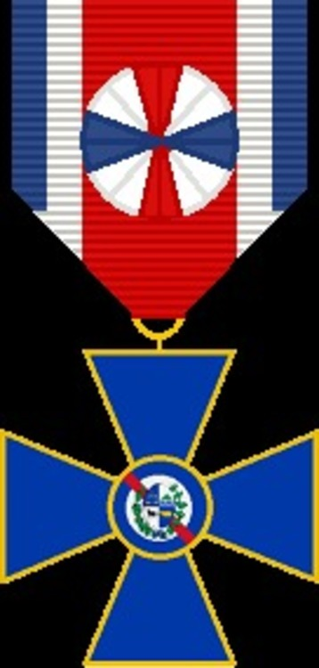 Medalla al merito militar oficial