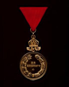 Medal for Merit Reverse