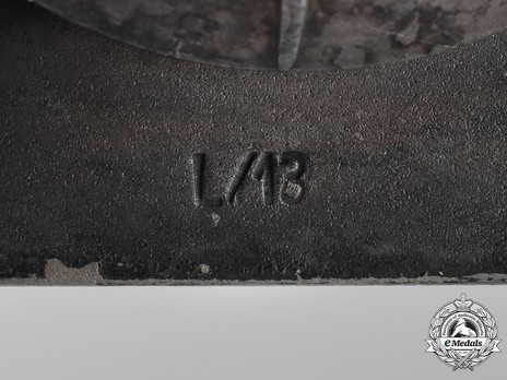 Iron Cross I Class, by P. Meybauer (screwback, marked) Detail