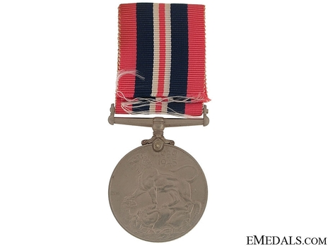 Silver Medal (with cupro-nickel, named) Reverse
