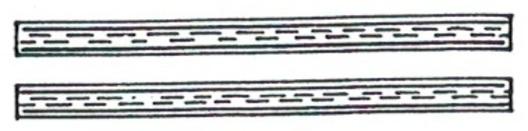 Kriegsmarine Female Auxiliary Haupthelferin Sleeve Stripes Obverse