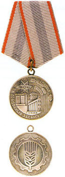 Medal for Labour Services Obverse and Reverse