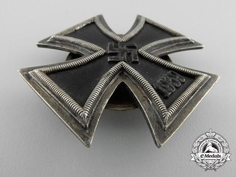 Iron Cross I Class, by E. F. Wiedmann (screwback) Obverse