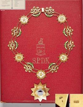 Order of Kinabalu, Grand Commander Collar