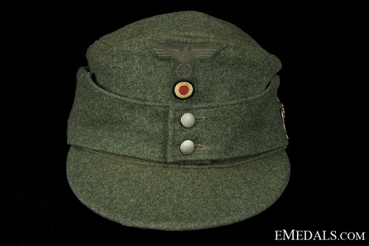 German Army NCO/EM's Mountain Cap Front