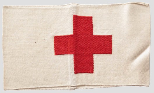 German Army Medical Personnel Armband Obverse