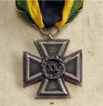 Military Long Service Decoration, Type I, Cross for 20 Years