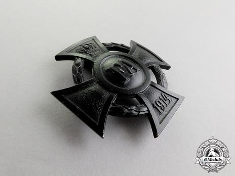 I Class Cross (Blackened iron) Obverse