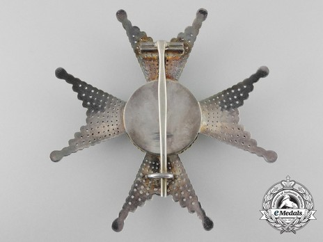 I Class Commander Breast Star (with silver and silver gilt) Reverse