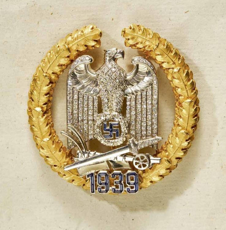 Gau+honour+badge+wartheland%2c+andreas+thies%2c+obv