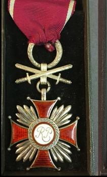 Cross of Merit, II Class (with swords, 1942-1989)