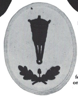 Kriegsmarine Blockade Weapons Foreman of the Reserve Insignia Type I Obverse