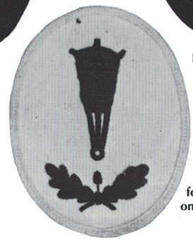 Kriegsmarine Blockade Weapons Foreman of the Reserve Insignia Type I Obverse