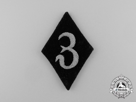 Allgemeine SS Dental Service Trade Insignia (Officer version) Obverse
