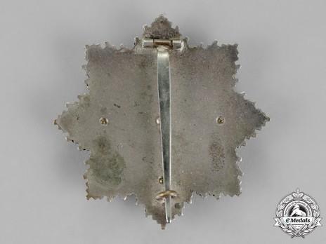 German Cross, in Gold, by C. E. Juncker (Model 2, unmarked, tombac) Reverse