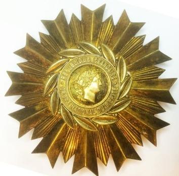 National Order of Merit, Grand Cross Breast Star (1963-1980)
