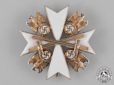 IV Class Cross with Swords Obverse