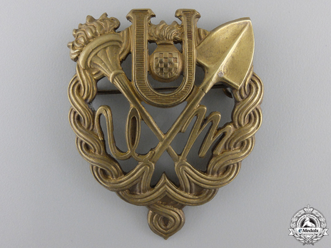 Bronze Gilt Badge Obverse