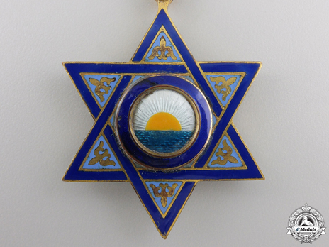 Order of Mehdi, Type II, Grand Cross Obverse