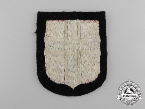 Waffen-SS Norwegian Volunteer Arm Shield Reverse