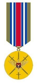 Medal for Strengthening the Brotherhood of Arms Obverse
