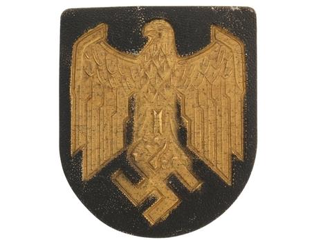 Kriegsmarine Wehrmacht Eagle Shield Decal Obverse