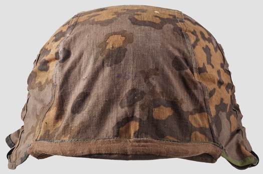 Waffen-SS Camouflage Helmet Cover (1st pattern) Obverse