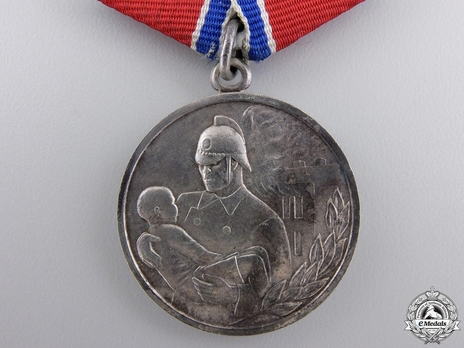 Bravery in a Fire Medal (Variation I)