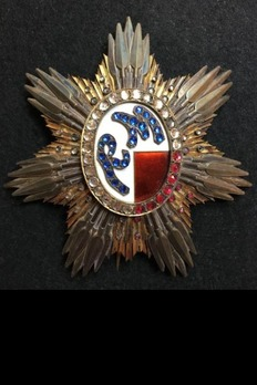 Order of Ranavanola III, Type III, I Class Grand Cross Breast Star