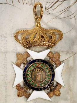Royal Order of Saint Ferdinand and of Merit, Commander Obverse