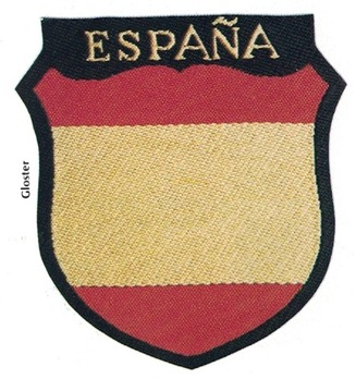 German Army Spain Sleeve Insignia Obverse