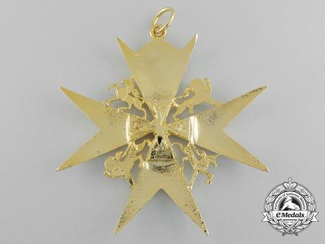 Bailiff/Dame Grand Cross (with gilt) Reverse