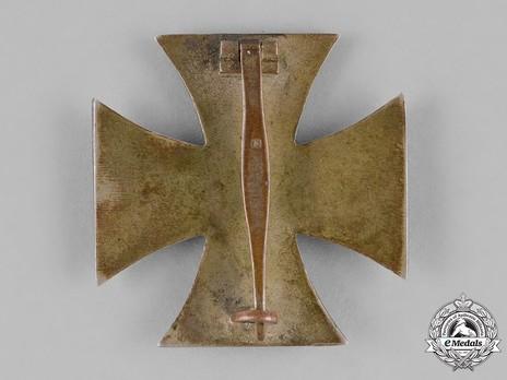 Iron Cross I Class, by Steinhauer & Lück (4, Type A) Reverse