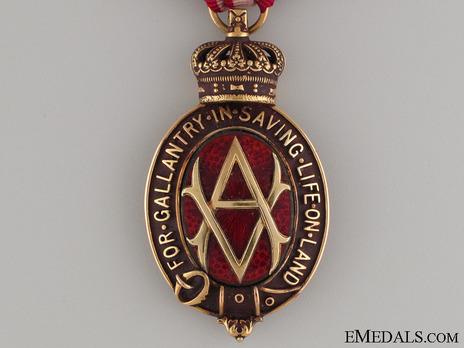 Albert Medal (Service, Land) Obverse