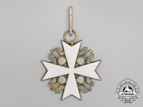 II Class Cross (with ring) Reverse
