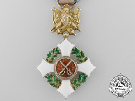 Military Order of Savoy, Type II, Officer Reverse