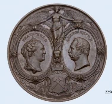 Centenary of Mining Institute Table Medal (in bronze)