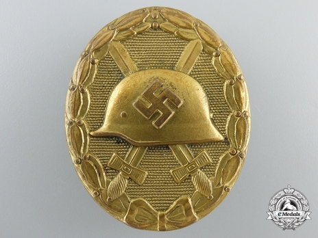 Wound Badge, in Gold Obverse