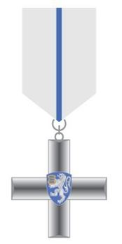 Police Service Cross, III Class (for 10 Years) Obverse