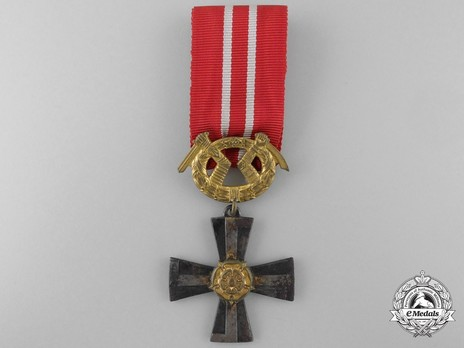 Order of the Cross of Liberty, Military Division, III Class Cross (1941) Obverse