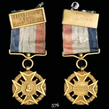 Gold Cross (for Officer) Obverse and Reverse