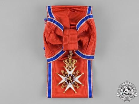 Order of St. Olav, Grand Cross, Civil Division Obverse