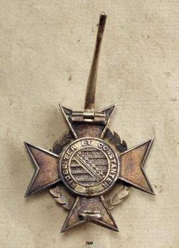 Carl Eduard War Cross, in Silver