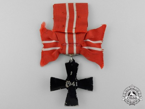 Order of the Cross of Liberty, IV Class Cross, Military Division (1941) Reverse