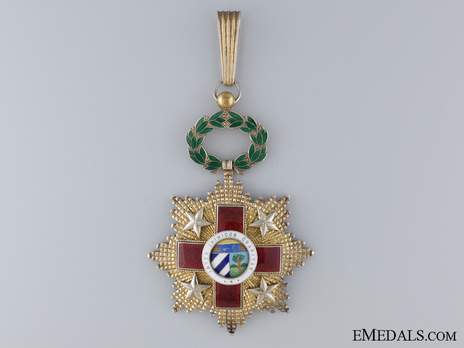 Order of the Red Cross. Type I, Commander Obverse