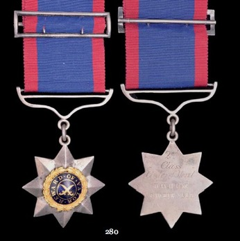 Indian Order of Merit, Military Division, II Class Medal (1837-1912)